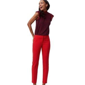 """LOFT """"Julie"""" Pencil Ankle Dress Pants"""